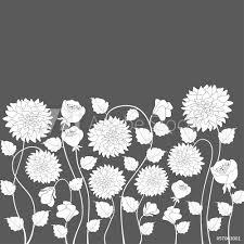 Fotobehang Floral Background Nikkel Art