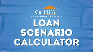 Pay Stub Calculator California Calhfa Loan Scenario Calculator