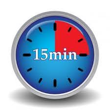 Timer Fifteen Minutes Transparent Ten Minute Clock Clipart Clipart Images Gallery