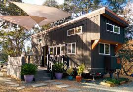 gooseneck tiny house. Gooseneck Tiny House With Landscaping Idea