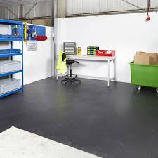 packs industrial interlocking vinyl floor tiles