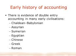 The History And Development Of Accounting Ppt Video Online Download