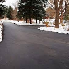 heated driveway cost. Modren Driveway Cleared Driveway With Snow For Heated Driveway Cost M