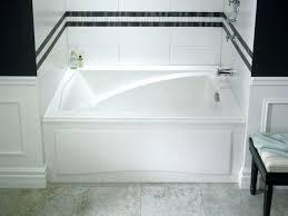 Bathtubs Idea Stunning Deep Soaking Tub Shower Combo Extra Deep 4 Foot Tub Shower Combo
