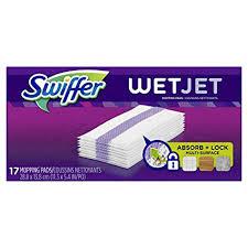 swiffer wetjet hardwood floor wet jet mop pad refills original scent refill 17