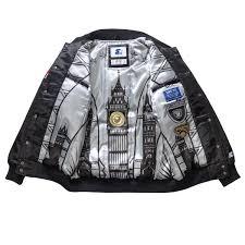 limited edition raiders satin jacket