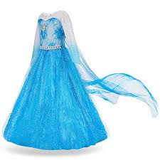 FUNNA <b>Elsa Costume</b> for Girls <b>Princess Dress</b> Up <b>Frozen Costume</b> ...