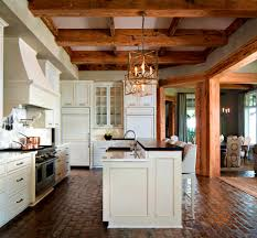 Kitchens With Brick Floors Apartments Formalbeauteous Brick Floor Kitchen Traditional