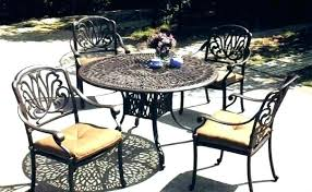 cast aluminum patio chairs. Cast Aluminum Outdoor Dining Set R Of 7 Patio Sets Best For 8 Furniture Piece Chairs O