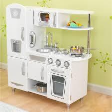 2 Piece Retro Kitchen Kidkraft White Vintage Kitchen 53208