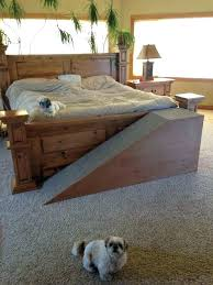 dog steps to bed for beds found on ramp dogs bath and beyond tall wood cat