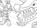 Раскраска онлайн ниндзяго бесплатно