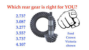 Ford Ranger Gear Ratio Chart Which Ford Rear Gear Ratio Is Right For You