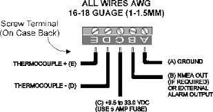 cruzpro py30 and py60 digital pyrometer and alarm py60 connection diagram