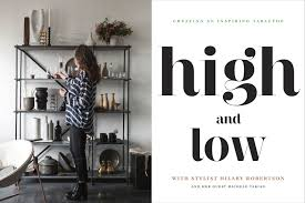 Tricia Joyce Inc - News - Eric piasecki photographs and films a special  project, High and Low, in collaboration with Hilary Robertson and Michele  Varian
