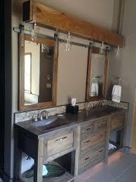 building bathroom cabinets barn door bathroom cabinet building your own bathroom vanity