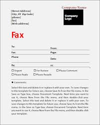 Fax Cover Sheet Samples Create A Fax Cover Page Fax Cover Sheet Template For Pages