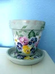 hand painted flower pot ideas hand painted flower pots clay pot saucers clay plant pot saucers hand painted flower pot ideas