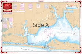 Fort Walton Beach And Destin Icw Navigation Chart 91