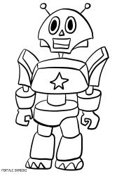 Disegni Da Colorare Per Bambini Robot Fredrotgans