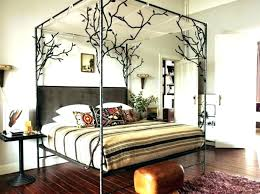 wood canopy bed frame queen – scottlikes.com