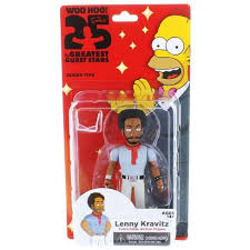 Neca The Simpsons 25th Anniversary Series 5 <b>Lenny Kravitz 5</b> ...