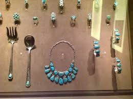 museum of indian arts culture vine turquoise jewelry