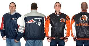 nfl leather jackets