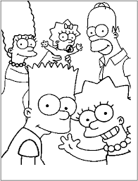 Simpsons Coloring Page Png 800 1050 Dessin A Colorier 12