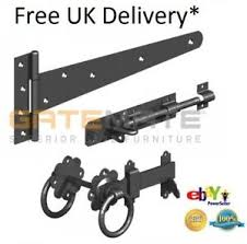 image is loading garden gate side gate ironmongry hinges ring latch