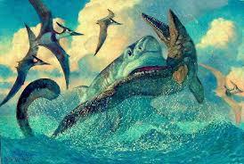 Image result for megalodon vs tylosaurus