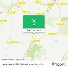 Nestle Waters North America How To Get To Nestle Waters North America Inc In Louisville