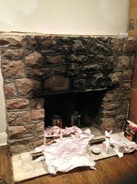 paint stone fireplace can you paint cast stone fireplace paint stone fireplace
