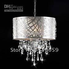 2019 modern chrome drum crystal chandelier ceiling pendant light fixture nwo1820 ems from myhopeis 217 29 dhgate com