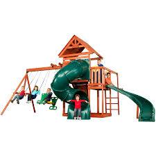 playset swing n slide