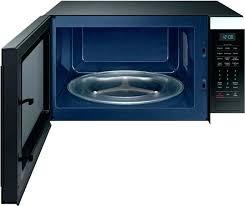 black stainless countertop microwave canada steel