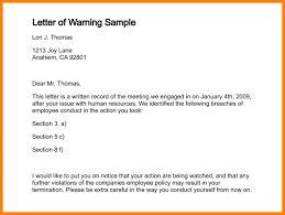 Hr Warning Letter Warning Letter Rome Fontanacountryinn Com