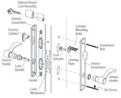 kwikset lock parts door parts diagram diagram of door parts lovely door lock parts kwikset lock parts door hardware door