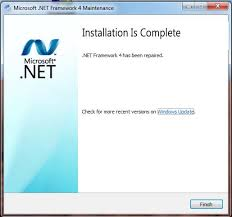 how to fix dot net framework 4 0 on