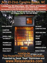 Small Picture Relaxshackscom JUST ANNOUNCED TINY HOUSE BUILDING AND DESIGN