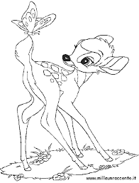 Bambi Disegni Da Colorare Bambini Disegni Disegnare