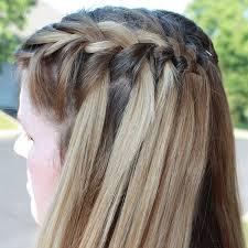 Hairstyle Waterfall 26 sweet waterfall french braid hairstyles slodive 7811 by stevesalt.us