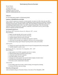 Resume Book Resume Book Keeper Resume 54