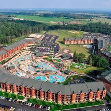 wilderness hotel golf resort america s largest waterpark resort