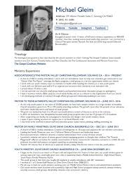 Ministry Resume Lovely Ministry Resume Images Example Resume Ideas Alingari 37