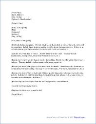 complaint format letter complaint letter samples writing  complaint letter sample letters must know tips easy ask complaint format letter