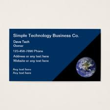 tech business card technology business cards templates zazzle