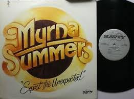 Black Gospel Lp Myrna Summers Expect The Unexpected On Savoy | eBay
