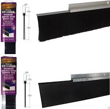 8foot 2 5m aluminium and brush draught excluder seal for the bottom of a