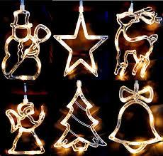 Fensterdekoration Fensterdeko Weihnachtsbeleuchtung
